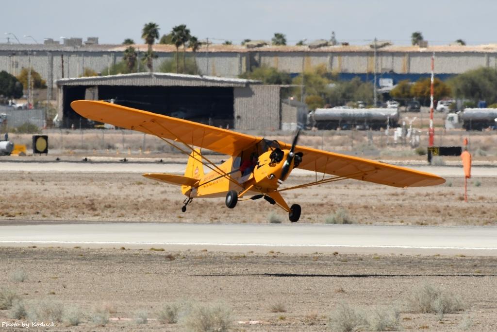 Private Piper J-3C-65 Cub(N92400)@Yuma_4_20180317.jpg