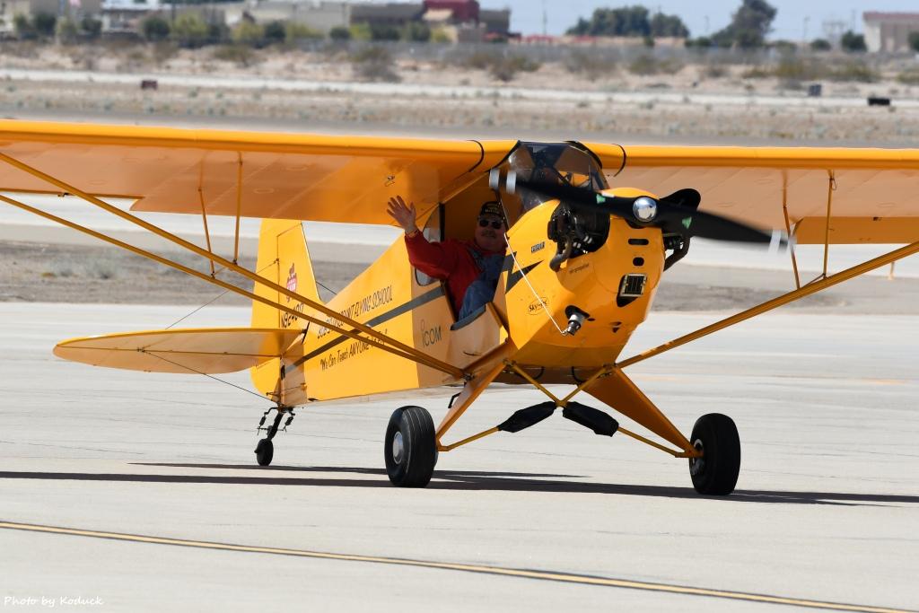 Private Piper J-3C-65 Cub(N92400)@Yuma_9_20180317.jpg