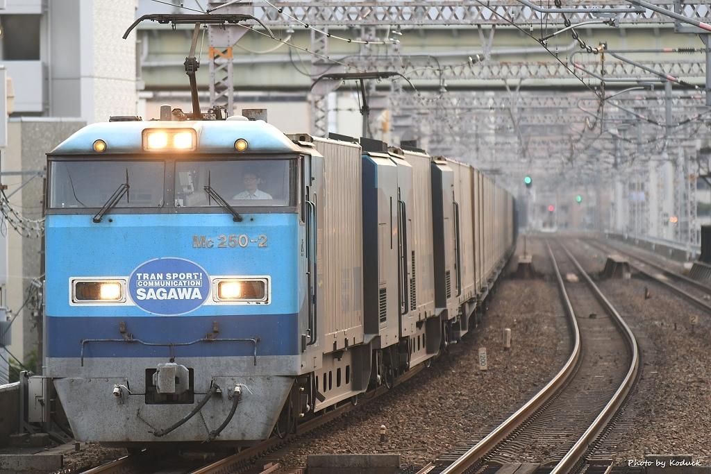 M250貨物電車@大阪環狀線野田站_1_20190606.JPG