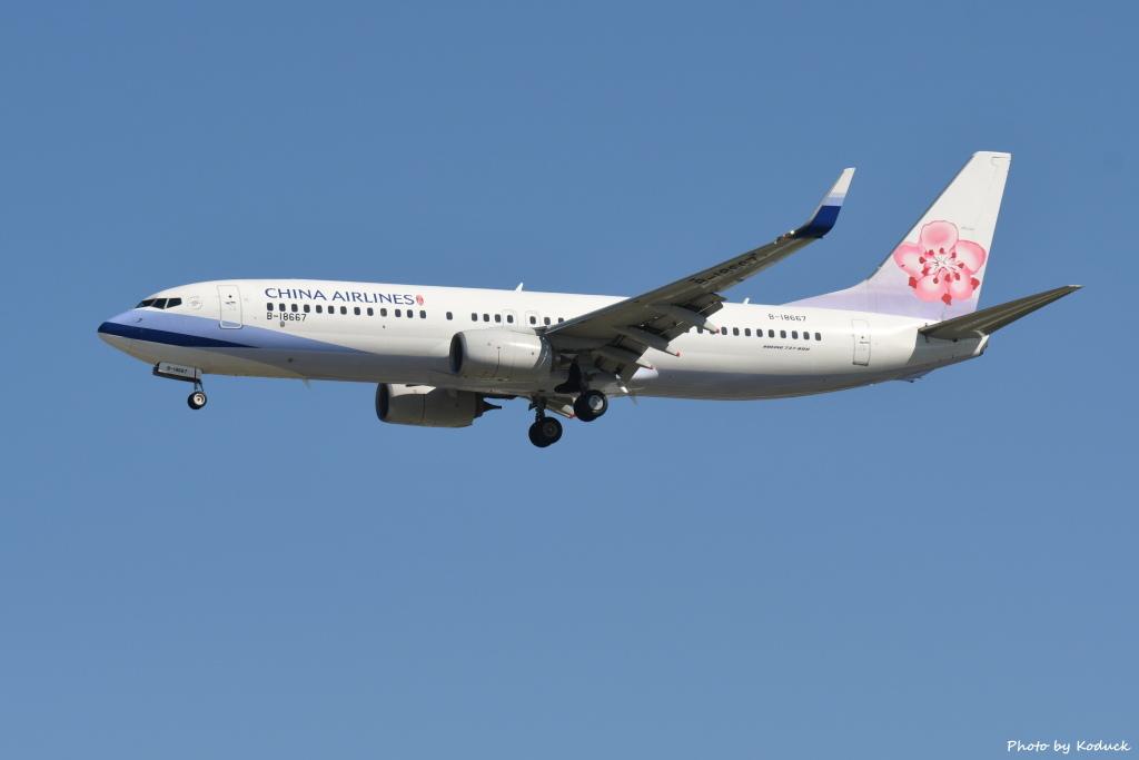 China Airlines B737-8AL(WL)(B-18667)@RCTP_1_20190806.JPG