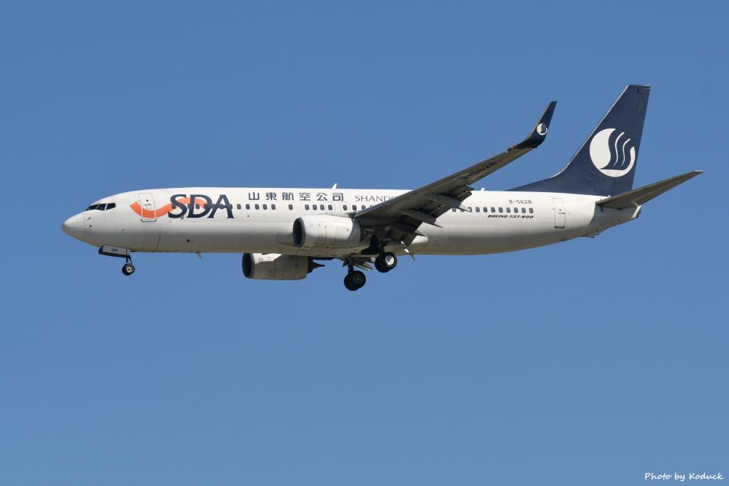 Shandong Airlines B737-85N(WL)(B-5628)@RCTP_1_20190806.JPG