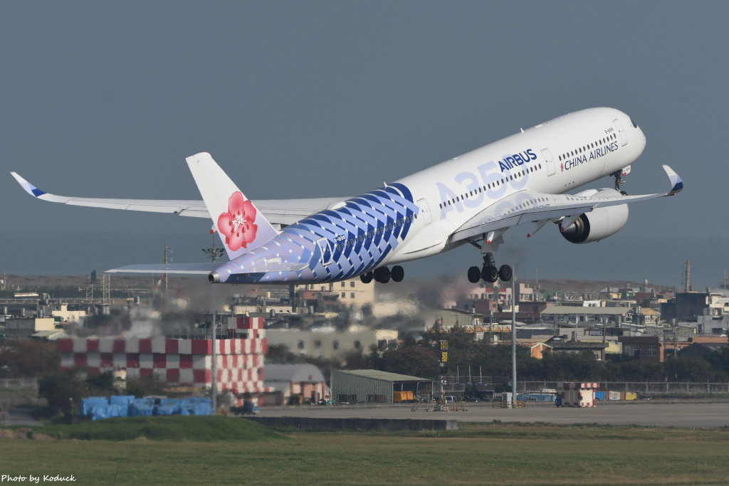 China Airlines Airbus A350-941(B-18918)@RCTP_2_20200103.JPG