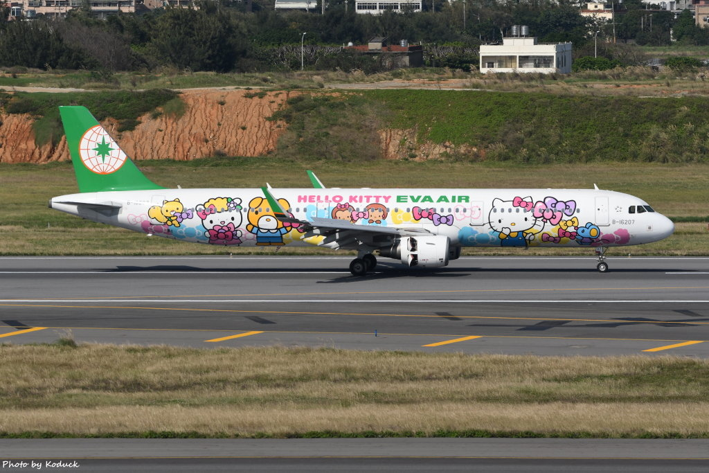 EVA Airways Airbus A321-211(WL)(B-16207)@RCTP_1_20200102.JPG