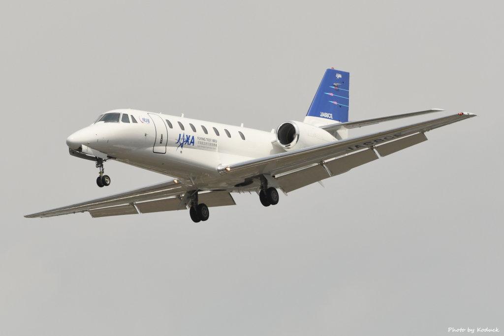 Japan - Aerospace Exploration Agency (JAXA) Cessna 680 Citation Sovereign@RJNA_1(1)_20190604.JPG