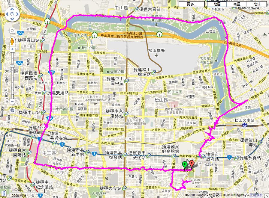 2010富邦馬拉松