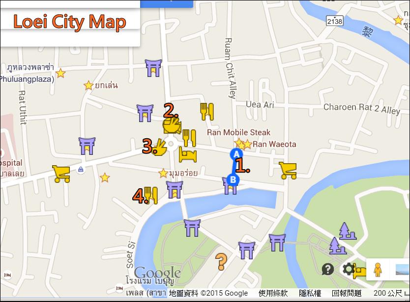 黎府city map