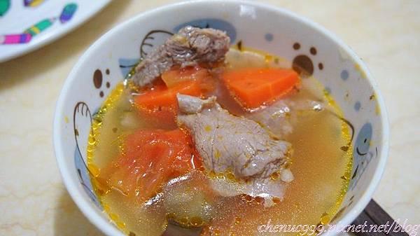 清燉牛肉湯