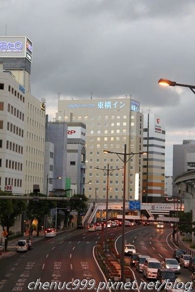 東橫旭橋站前