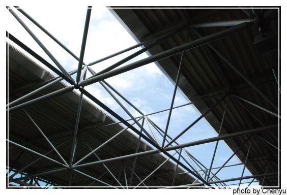 北投站的屋頂