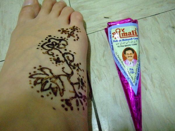 Henna試畫 001-慘不忍睹呀!