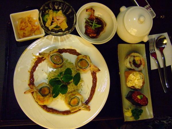 今日最貴餐--玫瑰大明蝦是也!!
