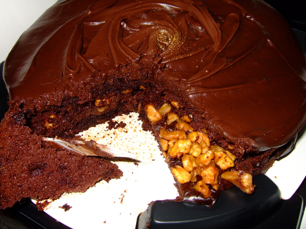 2009.11.09 D2核桃巧克力蛋糕 (7).JPG