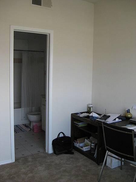 房間和浴室相連