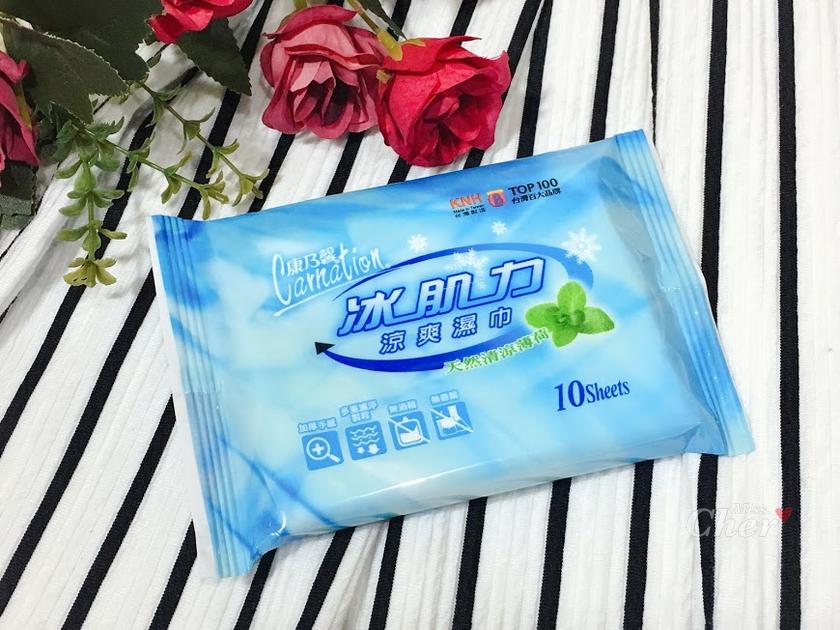 康乃馨 涼感棉 涼感濕巾 冰肌力_结果.png