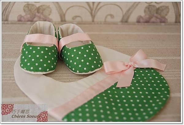 手作嬰兒鞋彌月禮S71B