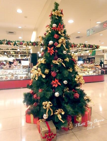 2012聖誕樹_SOGO復興館B2