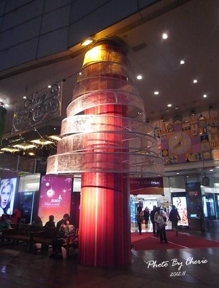 2012聖誕樹SOGO門口