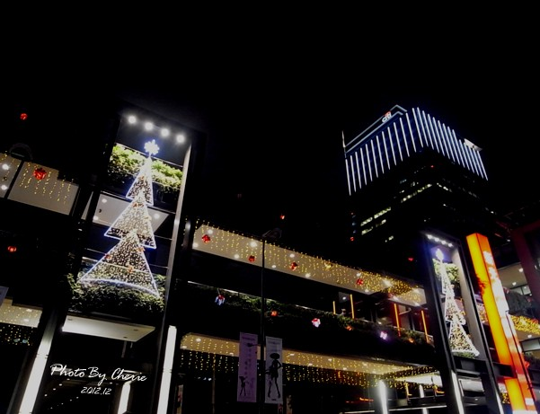 2012聖誕樹新光三越信義新天地005