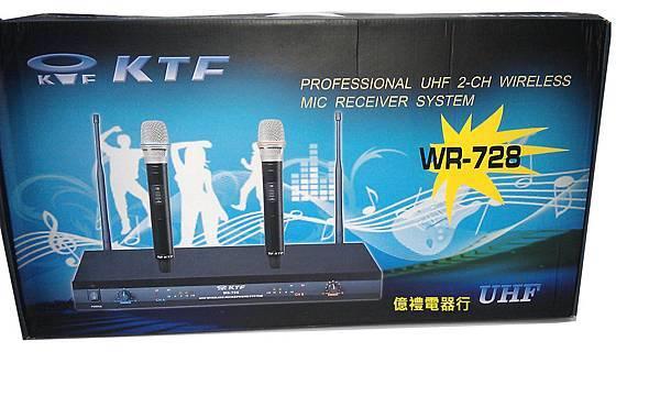 KTF無線麥克風WR-728(公)