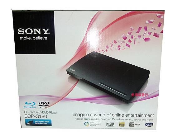 SONY光碟機BDP-S190(公)