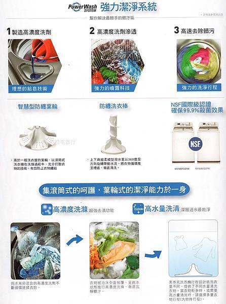 美泰克12公斤洗衣機MVWC200XW(廣告)公