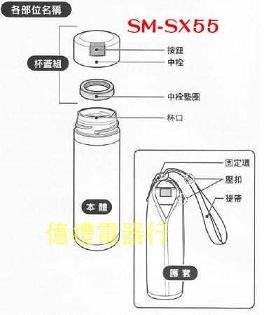 象印新品SM-SX55(公)說明書