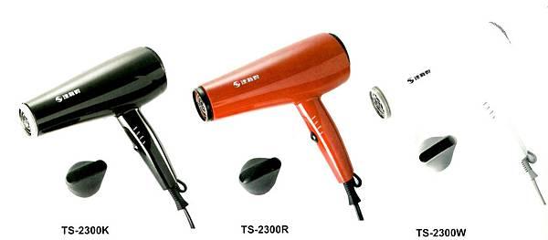 達新TS2300靜音炫彩吹風機顏色