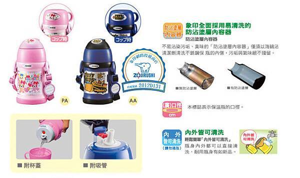 象印兒童保溫045公升SC-ZS45規格