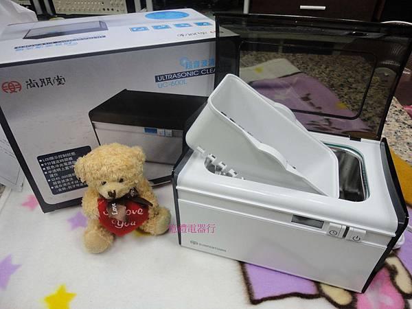 尚朋堂超音波清洗機UC-600L(LCD面板.定時關機功能)