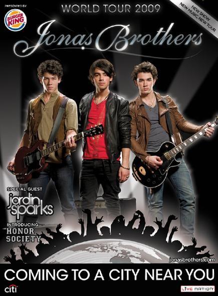 強納斯世界巡迴演唱海報