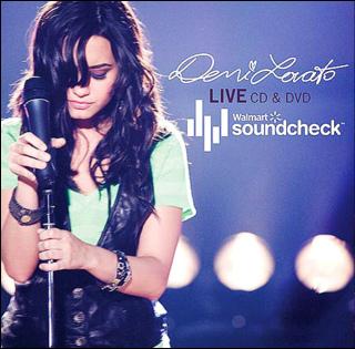 Demi Lovato Live CD & DVD.Walmart Soundcheck.bmp