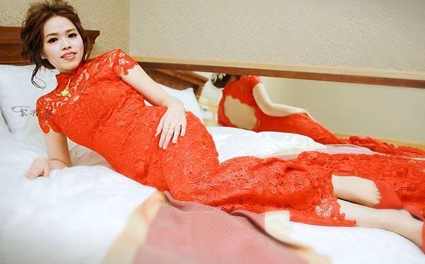 嘉義新娘秘書紫杉依-104.01.04涵妮訂婚造型嘉義新娘秘書-新港香藝庭園餐廳