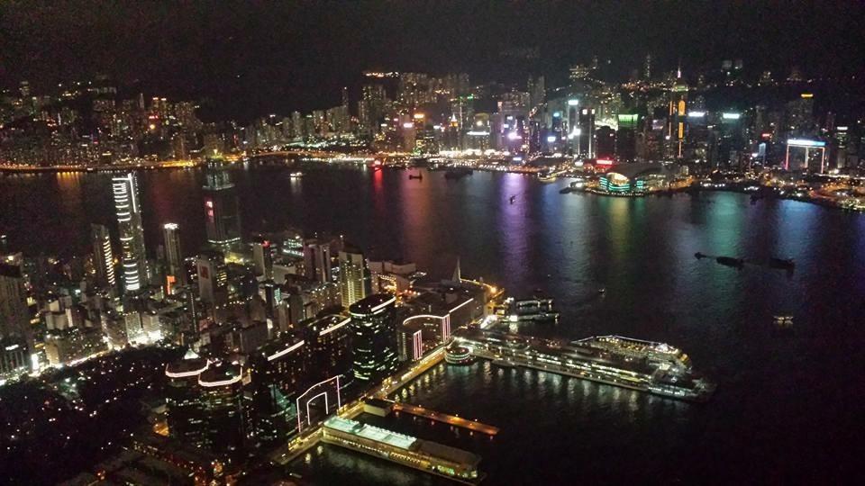 九龍ICC118樓浪漫夜景