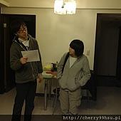 20120210排練第一次約會後,男送女回家情景~集合兩位戲劇戲術科考生的課堂排練 (1)