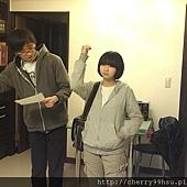 20120210排練第一次約會後,男送女回家情景~集合兩位戲劇戲術科考生的課堂排練 (2)