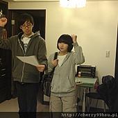 20120210排練第一次約會後,男送女回家情景~集合兩位戲劇戲術科考生的課堂排練 (3)