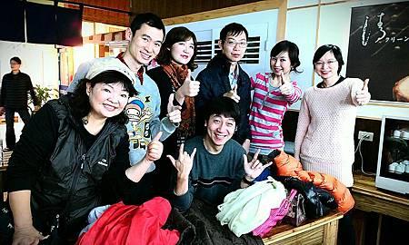 2013-01-13 林口酒廠成果展後大合照
