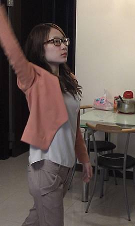 主持人表演課隨時檢查身體各處是否緊繃20130406一對一個人班 (1)