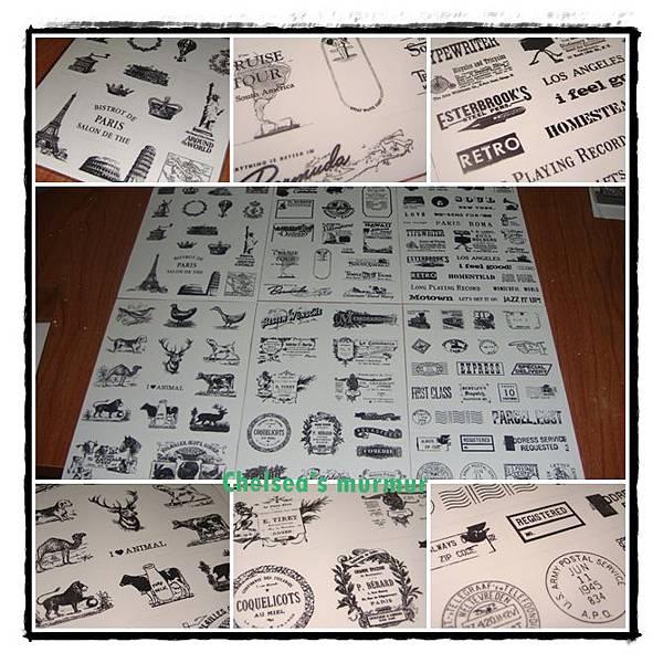 複古印章圖案透明日記貼紙組圖.jpg