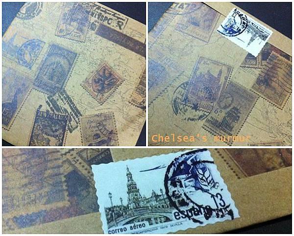 郵票裝飾貼01