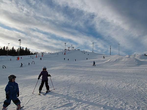 瑞典于默奧Bräntberget滑雪場