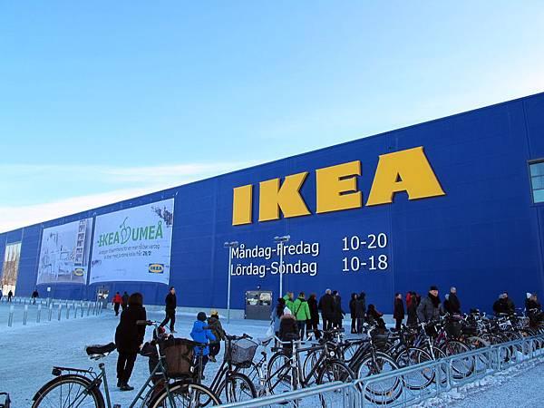 瑞典于默奧IKEA分店