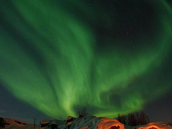 2017年Tromso極光