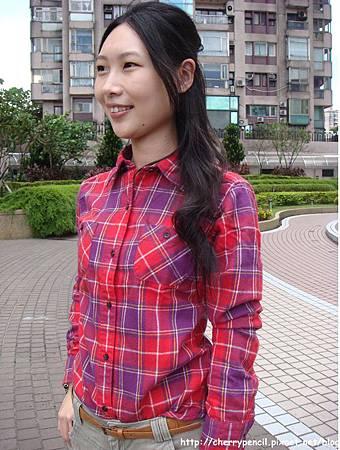 UNIQLO法蘭絨格紋襯衫-7