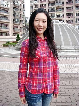 UNIQLO法蘭絨格紋襯衫-9