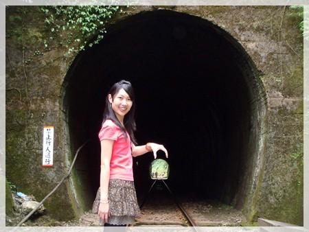 這個隧道走過去就是大華火車站,不過沿途危險要小心唷~