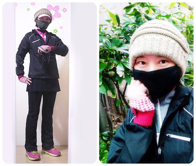 冬天跑步穿著