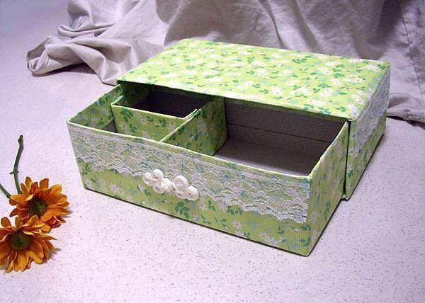 置物盒(面紙盒做)