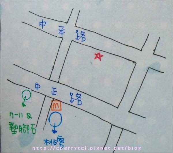 KIKI店取地圖
