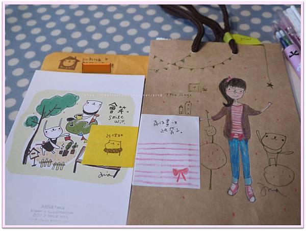 2013-3-23 MIIIA為你畫一只紙袋子